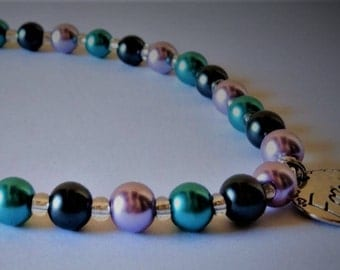 Glass pearl beaded necklace for Mother, Sister, Daughter, Wife, Aunt, or Best Friend!