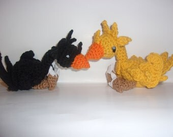 Crochet Chocobos And Other Creatures