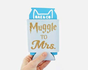 Muggle to Mrs. // Can Cooler // Bride // Bachelorette