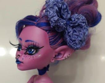 OOAK Custom Monster High Doll - Customized - Kjersti Trollson - Repaint - Repainted Art Dolls - One of a Kind
