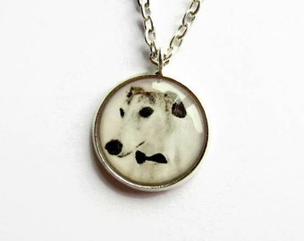 Dog Necklace - Greyhound Necklace - Whippet Necklace - Sighthound Jewelry - Dog Jewellery - Fun Gift for Dog Lover - Greyhound Gifts