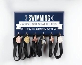 swimmer gifts, swimming, swimmer gift, swim, just keep swimming, swimmer, ribbon, swimming ribbons, ribbon display, swim team, trophy