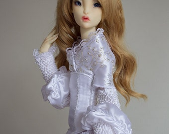 """Outfit """"Belle"""" for Lillycat SD doll on Lune body"""