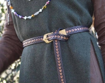 Viking Belt W/Historical buckle