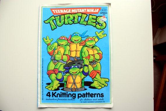 Tortugas Ninja patrones que hacen punto / los Patons 556 / Ninja ...