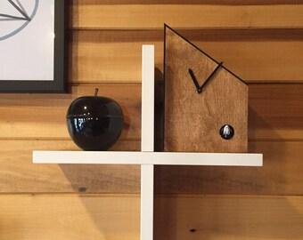 The OG - Modern Cuckoo Clock, Minimalist, Simple Design, Unique Wall Clock, Mid Century Modern