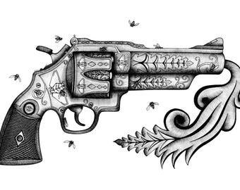Pistol - print