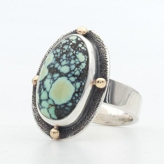 Silver Poseidon Ring