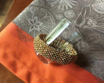 Gold Clasp Bracelet Sarah Coventry FREE SHIPPING