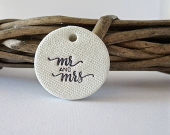10 wedding tags ~ perfect for decorating wedding favours