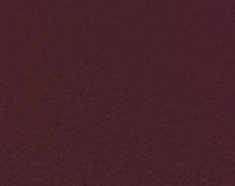 """Red Wine Faux Micro Passion Suede Upholstery Drapery Fabric - BTY - 58""""/60"""""""