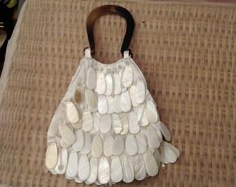 Original Vintage 1980's Shell Handbag