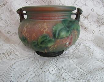 Roseville Pottery Fuchsia Planter