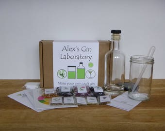 Personalised GinCraft - make your own craft style gin