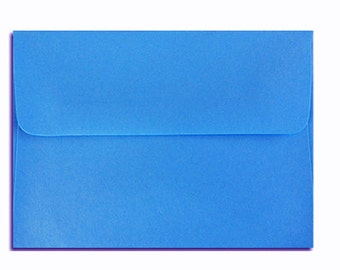 20 Bright Blue Envelopes in A7, A6, A2 & A1 Sizes