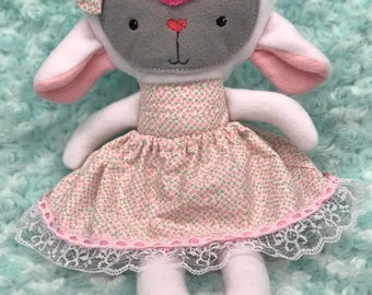 Mary the Lamb stuffie