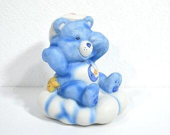 Bedtime Bear Nightlight Lamp Base- Vintage Care Bears Lamp Parts, Official Care Bears Merchandise, Kid's Room Decor