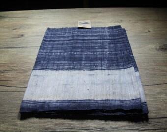 Vintage Hmong batik fabric from Hmong skirt #VB0048