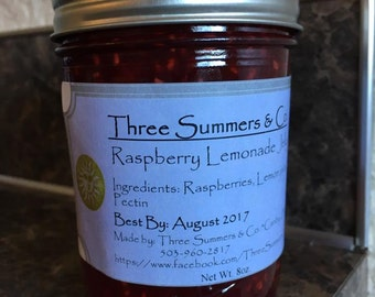 Raspberry Lemonade Jelly