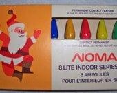 Vintage Christmas Lights Series Miniature Base ~1970 NOMA Canada