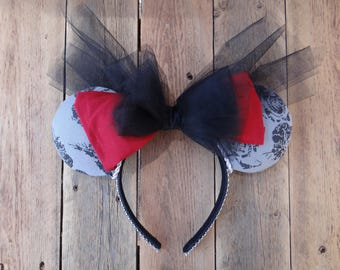 Pirate couture Mouse Ears