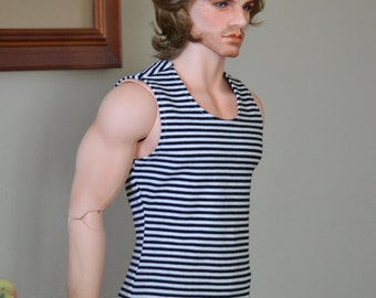 Striped tank for Iplehouse EID and like size dolls