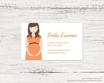 Portrait illustration Business Card Design   Caricature Business Card   Personalised Digital Business Card File