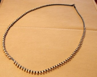 Gold Japanese Drop Bead Necklace
