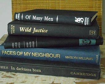Vintage Book Set of Five -  1940s - 1980s