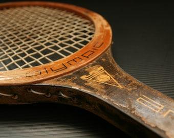 Vintage Racket, Wooden Racket, Antique Racket, Vintage Tennis Racket, Wooden tennis racket, Tennis Racket, Tennis Racquet, wood racket
