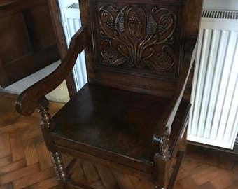 Jacobean Cheshire Chair