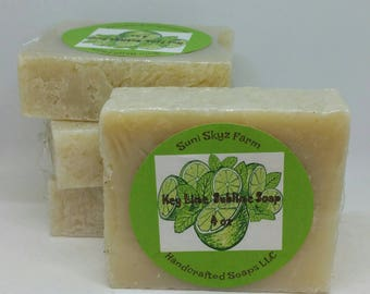 Key Lime Soap - Key Lime Pie Soap - Lime Soap - Citrus Soap - Vegan Key Lime Soap - Vegan Key Lime Pie Soap - Natural Key Lime Pie Soap