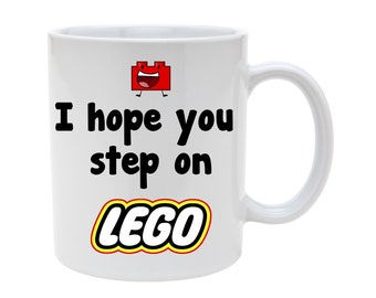 I hope you step on lego mug