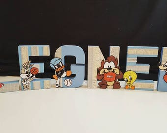 Baby lonely tunes letters (Price PER letter)
