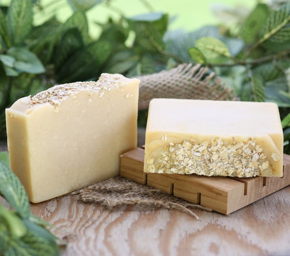 Oatmeal Soap with Coconut Milk