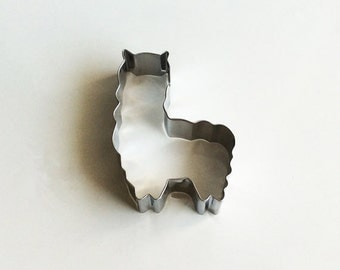 Alpaca Cookie Cutter Animal Cookie Mold/Metal Cookie Cutter/Dough Fondant Cookie Cutter/Baking Supply/Theme Party