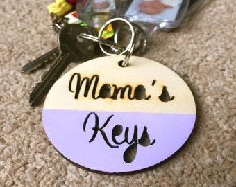 Mama's keyring