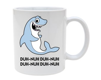 Jaws Inspired Shark Ceramic Mug