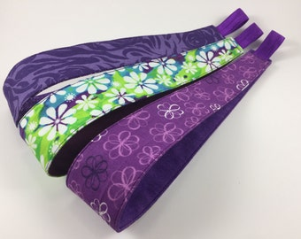 Handmade Fabric Headband, Adult Headband Woman, Womens Headband, Reversible Fabric Headband For Women,