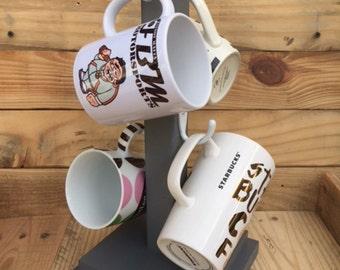 Coffee Mug Tree, Coffee Mug Rack, Coffee Mug Holder, Coffee Mug Stand, Coffee Mug Hanger, Coffee Mug Display