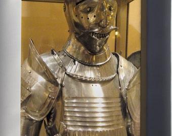 Canvas 24x36; Knight Maximilian Field Armor , South Germany, 1510-1520