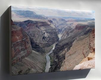 Canvas 24x36; Grand Canyon Toroweap 4