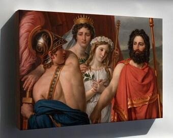 Canvas 24x36; Jacques Louis David The Anger Of Achilles