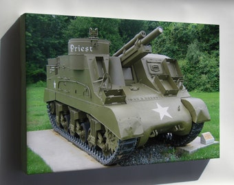 Canvas 16x24; M7 Priest