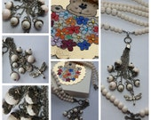 Pearls and Dragonfly - ce...