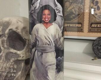 St Oprah Prayer Candle