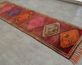 Primitive Runner Rug Etsy