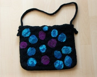 Felted handbag crochet - Portofreie delivery