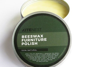 100% Natural Beeswax Furniture Polish with Gum Turpentine