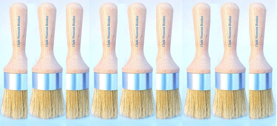 Chalk paint brushes 9 wholesale cabinet furniture waxing or for Wholesale chalk paint